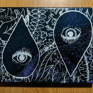 "Eye Spy 8"" x 10"" - DanCap Designs"