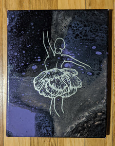 "Dancer 8"" x 10"" - DanCap Designs"