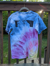 Load image into Gallery viewer, Here's a Flower Tie-Dye T-Shirt - Size Medium