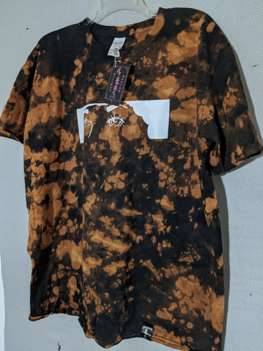 Eyes Bleach-Dye T-Shirt