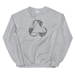 Reduce Reuse Unisex Sweatshirt