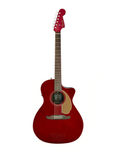 Fender Newporter Player CAR 6 String Electro-Acoustic Guitar - Walnut Fretboard