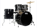 Natal K-EVB-UF22 BK  Evolution 5-Piece Shell Pack Acoustic Drum Kit Black