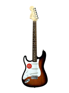 Fender Squier Affinity series Stratocaster Electric Guitar Left hand BSB