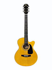 FST-350C Cutaway Acoustic Guitar Natural