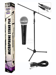 On Stage MS 7500 Microphone Stand Pack