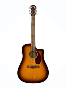 Fender CD-140SCE Electro Acoustic Sunburst with CASE