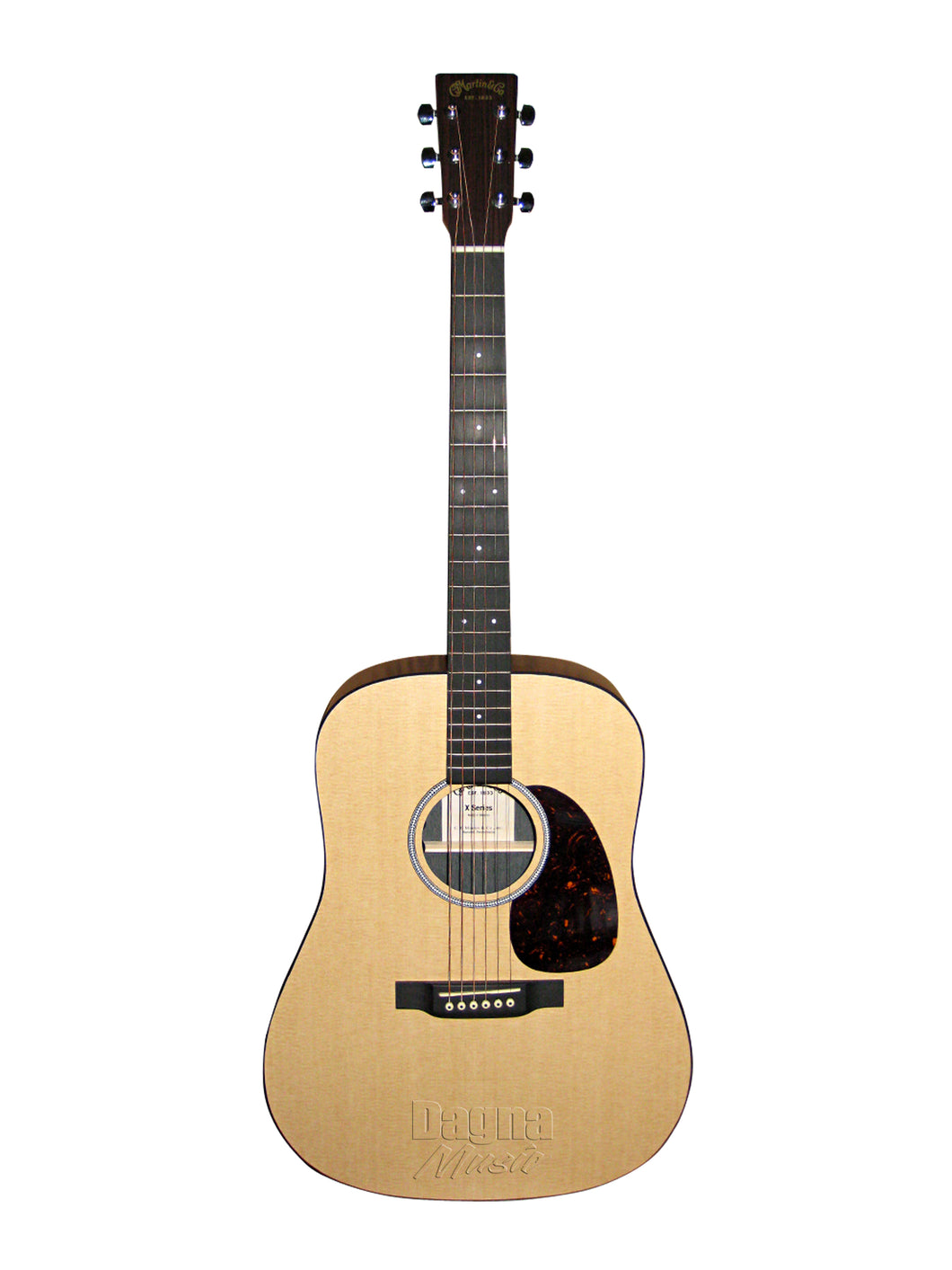 Martin DXMAE Electro Acoustic Guitar - X Series Natural