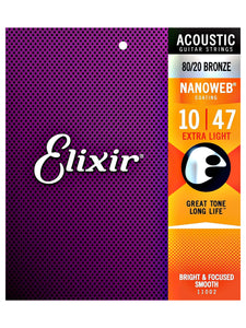 Elixir 11002  Acoustic Guitar Strings