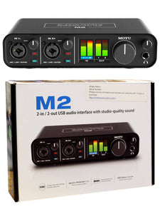 MOTU M2 2x2 USB-C Audio Interface