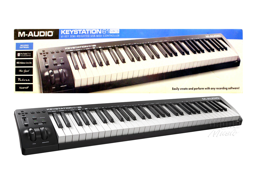 M-Audio 61 MK3 Keystation