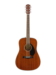 FENDER CD-60S ALL MAHOGANY ACOUSTIC GUITAR