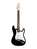 Aria STG-003 Black Electric Guitar