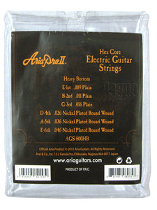 AriaProll  AGS-800HB Electric Guitar String