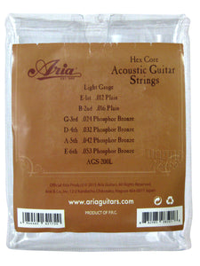 AriaProll  AGS-200L Acoustic Guitar String