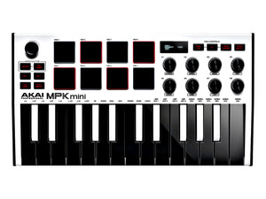 Akai Professional MPK Mini MK III White 25-key Keyboard Controller