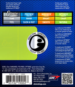 Elixir 19002 Electric Guitar Strings