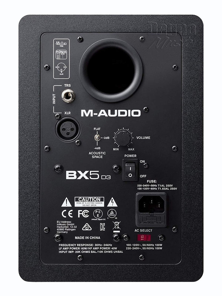 M-Audio BX5 D3 5-inch Powered Studio Monitor