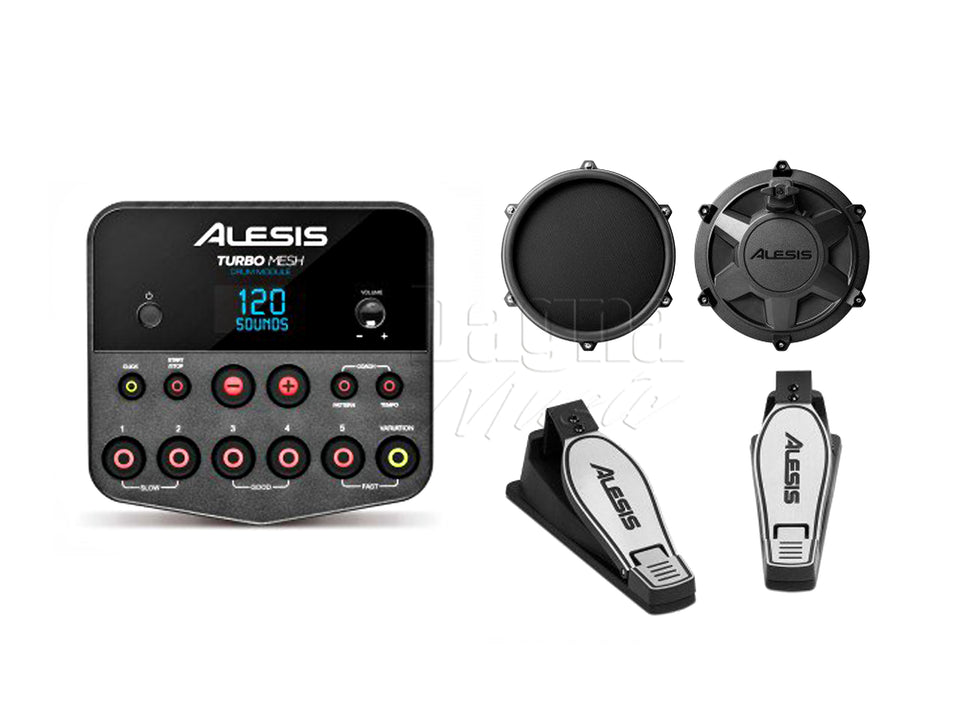 Alesis Turbo Mesh 7-Piece Electronic Drum Kit