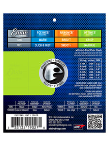 Elixir 19027 Electric Guitar Strings