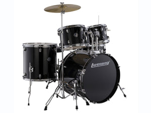 Ludwig LC17511 DIR 5 pieces Drum Set Black