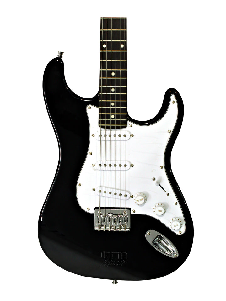 FENDER SQUIER MM STRATOCASTER ELECTRIC GUITAR - BLACK