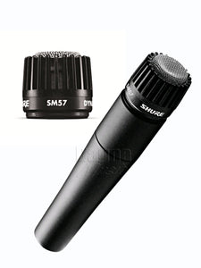 Shure SM57-LC-X Cardioid Dynamic Microphone