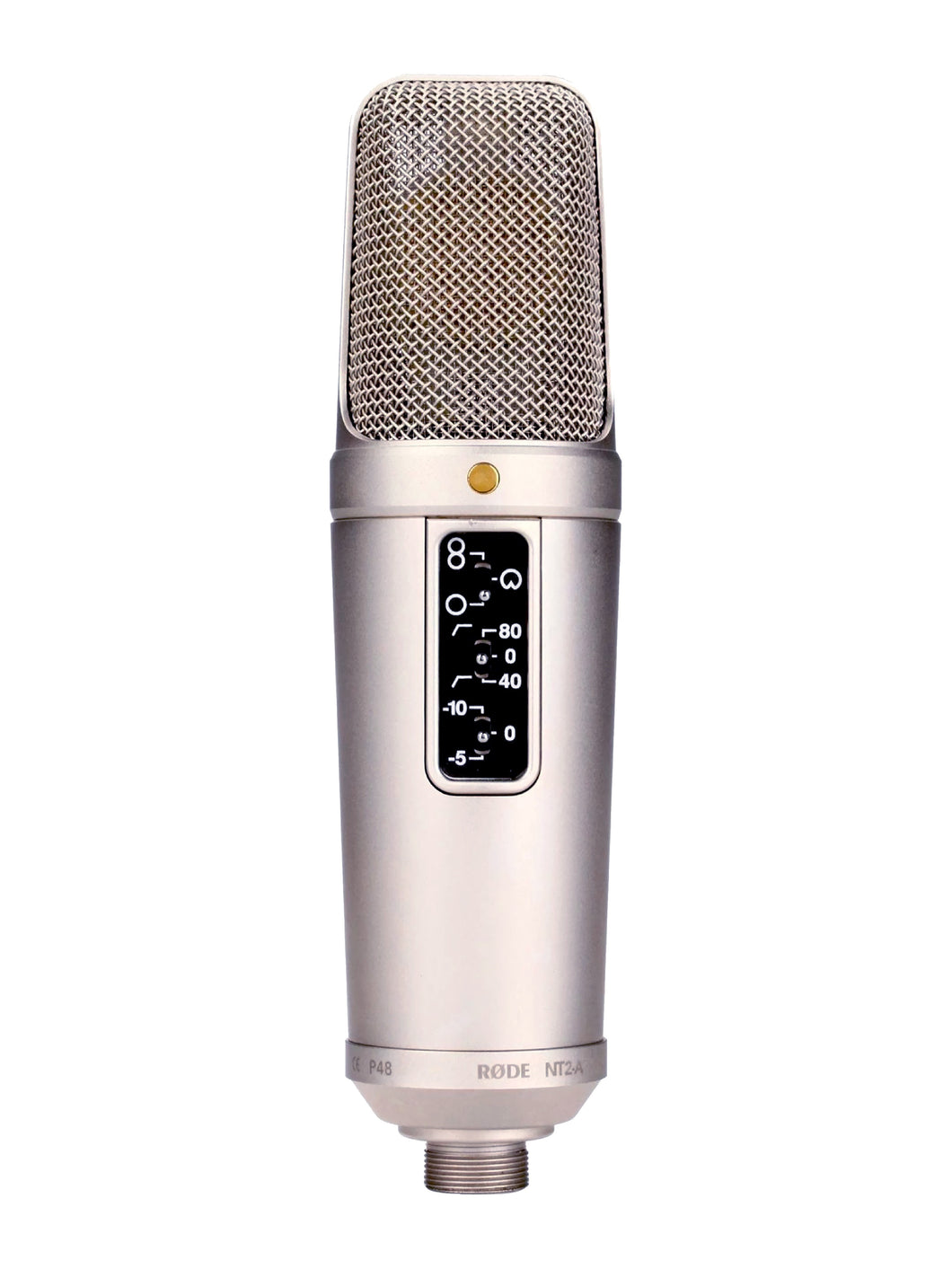 Rode NT2 A Large Capsule Studio Condenser Microphone