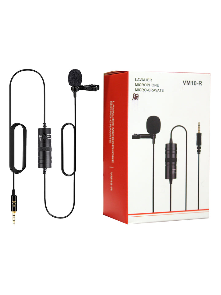 Lavalier VM10-R Clip On Microphone