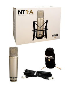 Rode NT1-A Large-Diaphragm Condenser Microphone