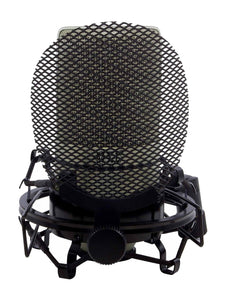 MXL 990 Complete Bundle Vocal Condenser Microphone with Pop Filter and Shock Mount