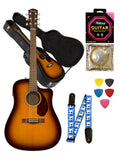Fender CD-140SCE Pack Electro Acoustic Sunburst with Case