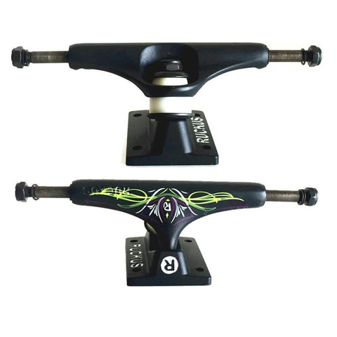 Ruckus Double Rocker Skateboard Trucks 5.0""