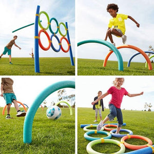 Flexible Colorful Solid Foam Pool Noodles