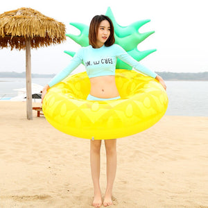 120cm Giant Pineapple Swimming Ring
