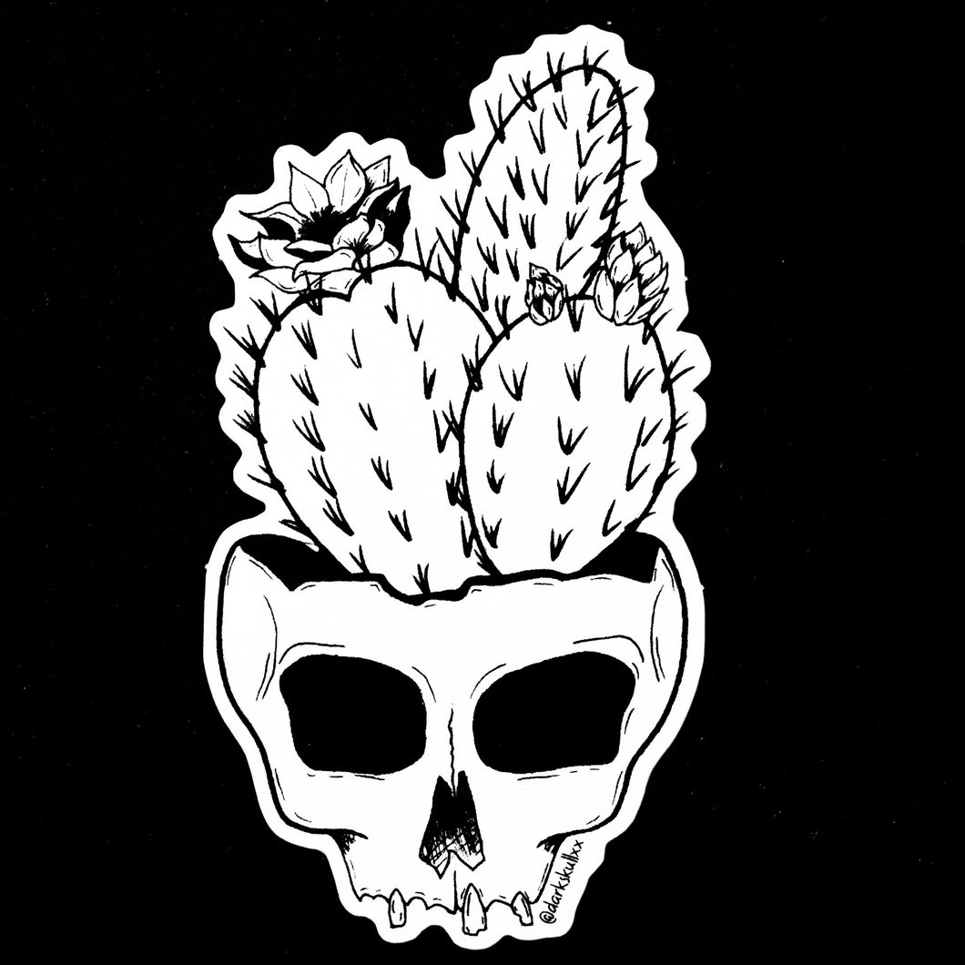 Cactus Skull of Your Enemies Sticker