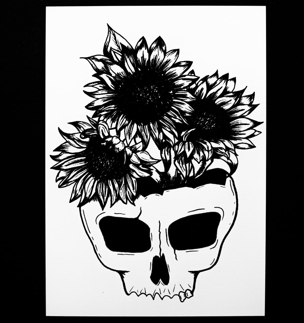 Sunflower Skull of Your Enemies 5