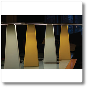 Wing Lamp Turmeric - Philip Kenny Studio