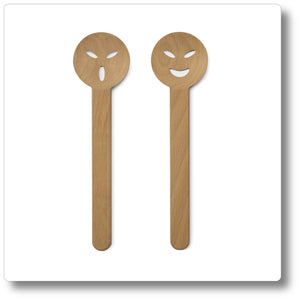 Salad Servers - Mr. & Ms.