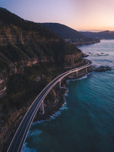 First Light Seacliff Bridge