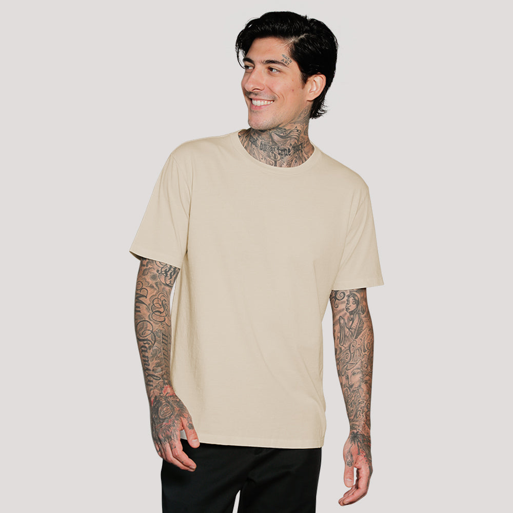 EVERYDAY RECYCLED COTTON TEE STRAIGHT HEM (LIMITED SUPPLY)