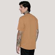 EVERYDAY RECYCLED COTTON TEE- CURVED HEM (LIMITED SUPPLY)
