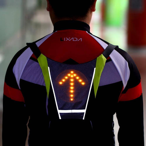 Image of GoSafe™ LED Safety Turn Signal Vest