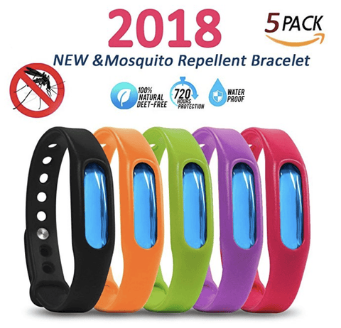 (5-Pack) Anti Mosquito Bracelet (Save $35)
