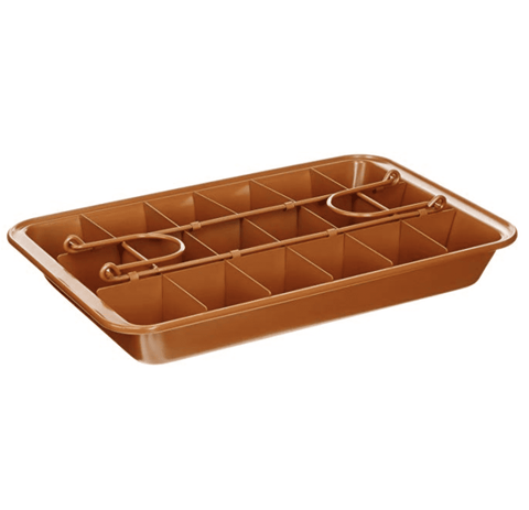 Brownie NON-STICK Copper Pan