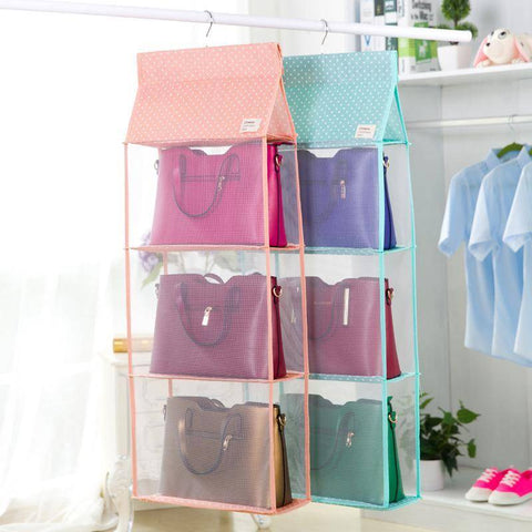 Image of Closet Purse Organizer