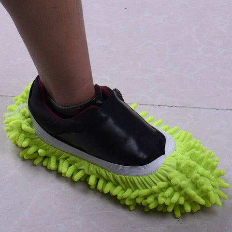Image of 2 Pcs/ Dust & Mop Slippers