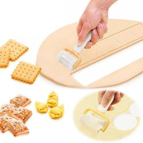 Image of 3Pcs/Set Rolling Angel Biscuit Cookies Cutter