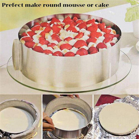 2/Pcs Magic Cake Mold Set