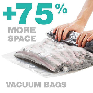 Smart Vacuum Travel Bags (8 Pcs)